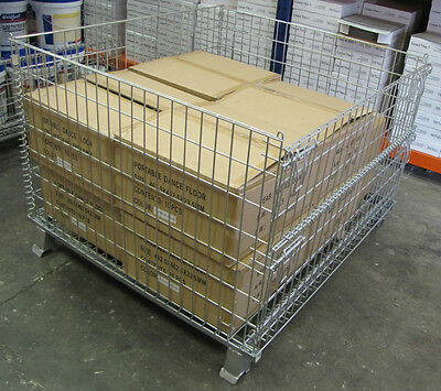 Pallet Cages - Stackable - 3 Cages For $588-