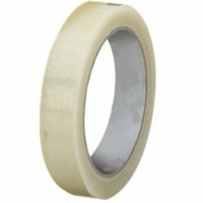 "8 x Rolls Sellotape Clear Sticky Wrapping Tape 18mm x 40m x 3"" 75mm Core"