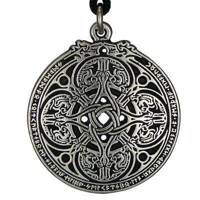 The Dragon Shield Celtic Knot pendant talisman military protection jewelry