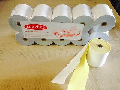 100. 76 x 76  2 PLY  POS PRINTER ROLLS ( KITCHEN PRINTER ROLLS )