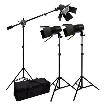 Photo Studio Photography Film Equipment Shooting Set Lighting Boom Light Kit