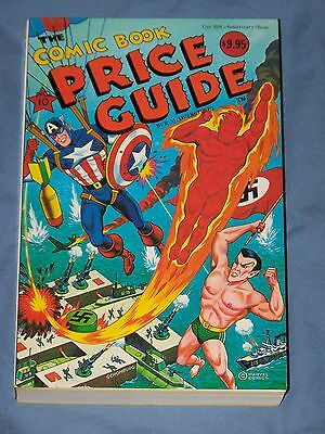 Overstreet Comic Book Price Guide # 10 1980 Sc G.a. Marvel Cover Schomburg Art F