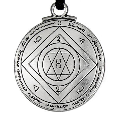 Talisman for Good Luck Pendant Seal of Solomon Amulet Hermetic kabbalah Jewelry