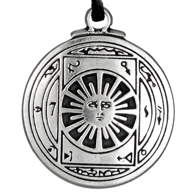 Talisman For Invisibility Pendant Seal Amulet Hermetic kabbalah magic jewelry