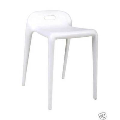 Replica YUYU Stackable BUM STOOL Cafe Kitchen Seat Chair Stools White