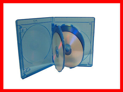 VIVA ELITE  Blu-Ray Replace Case Hold 4 Discs 5 PK (4 Tray) 15mm Storage Holder