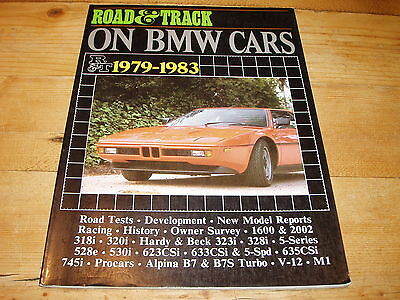 Brooklands  Books  - R & T on BMW Cars  1979-1983