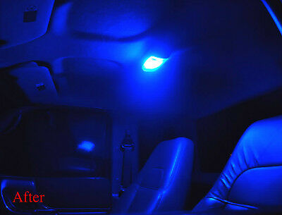 Ford Territory LED Interior Light Kit--Red Blue White Green Purple