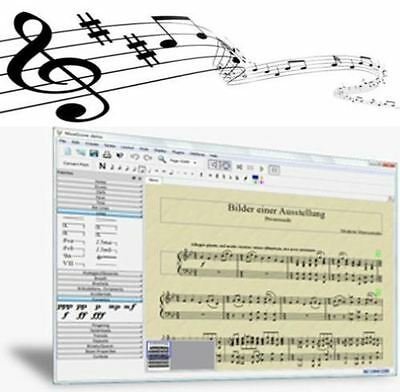 Sibelius / Finale Opensource Music Composition Notation for PC 1st Class post