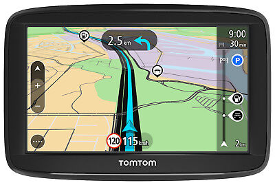 TomTom Start 52 M CE Traffic Lifetime 3D Maps TMC Tap & GO EU GPS XXL Navi WOW !