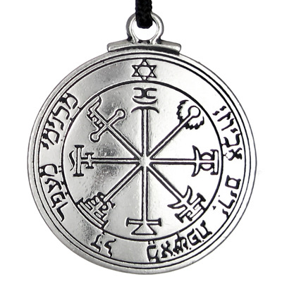 Talisman Pentacle of Jupiter Solomon Seal Pendant kabbalah Hermetic Jewelry
