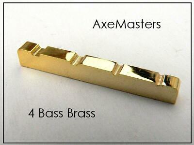 "USA MADE AxeMasters 1 5/8"" / 41mm Brass Nut for Fender PRECISION P Bass Guitar"