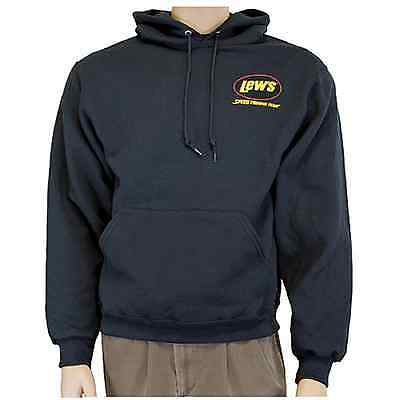 Lew's Black Large Hooded Sweatshirt