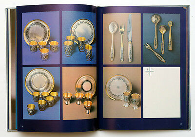 1985 Russia SOVIET SILVER JEWELRY MAKERS CATALOG ALBUM BOOK Illustrated