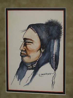 Lee Monette Tsa-Toke / Kiowa / Son Of Monroe Tsatoke