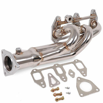 Stainless Steel Tubular 3-1 Exhaust Manifold For Mazda Rx8 Se3P 190 210 Bhp 03+