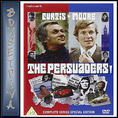 The Persuaders- Complete Series  Special Edition- Brand New Dvd**