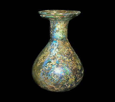 Aphrodite- Ancient Roman Pattern-Molded Sprinkler Glass Flask
