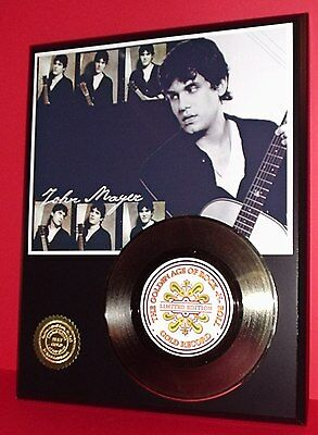 John Mayer Gold 45 Record Limited Edition Numbered Display Collectible