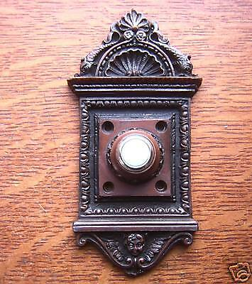 "New Victorian ""Renaissance"" Electric Doorbell Button"