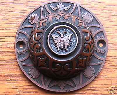 "New Victorian Eastlake ""Butterfly"" Doorbell Button"
