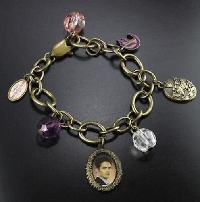 Twilight Breaking Dawn Charm Bracelet Edward