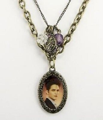 Twilight Breaking Dawn Necklace Double Chain Edward