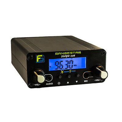 0.5 W Czh-05B Long Range Fm Transmitter - Light Displays & Wireless Stereo Music