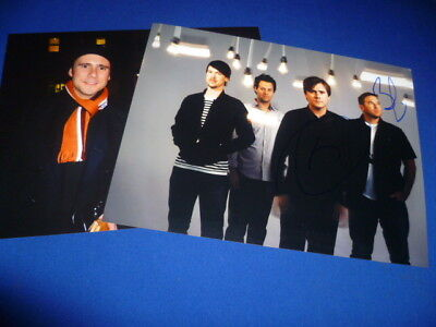 JIMMY EAT WORLD signed Autogramm 20x28 In Person JIM