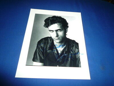 DWEEZIL ZAPPA signed Autogramm 20x25 cm In Person