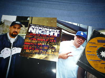 CYPRESS HILL ,ICE T, RUN DMC signed autograph In Person