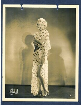 SEXY YOUNG BLONDE CHEESECAKE - 1930s OR OLDER - EXC+ COND - RISQUE EROTIC CHSK
