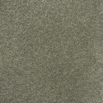 Grey Beige Feltback Twist Carpet - Lounge Bedroom Stairs, CHEAP Roll
