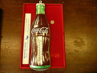 Old Coke Bottle Thermometer  17.5 Inches