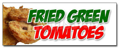 "24"" FRIED GREEN TOMATOES DECAL sticker tomato deep retail storefront marketing"