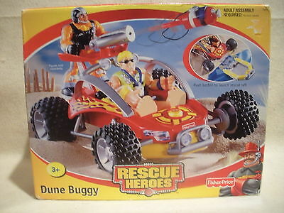 Rescue Heroes Dune Buggy Factory Sealed!