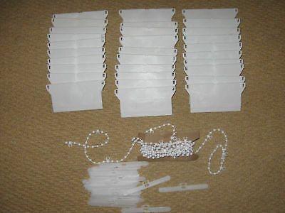 "89 mm (3.5"" ) VERTICAL BLIND 30 PIECE REPAIR KIT  BLINDS SPARES PARTS"