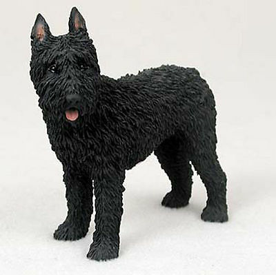 Bouvier Figurine Hand Painted Collectible Statue