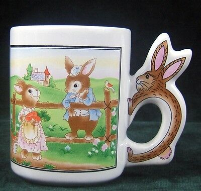AVON - EASTER TREATS MUG - Original Box - 1997 -MIB - No Candy