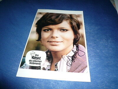USCHI GLAS signed Autogramm 20x28 cm In Person