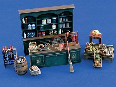 Verlinden 1/35 Grocery Store (1930 - 1940 to WWII era) [Resin Diorama kit] 1020