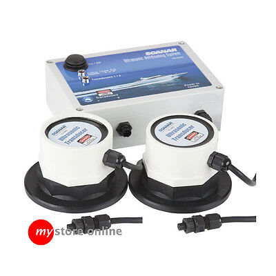 2 Channel Electronic Ultrasonic Antifouling Unit System Protect Boat Marine Hull