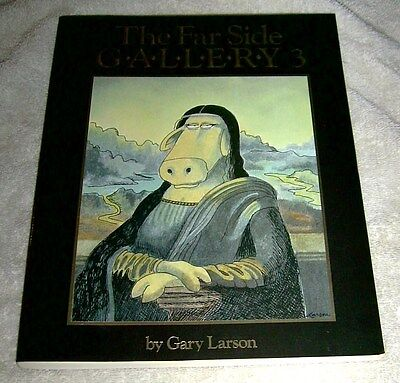 THE FAR SIDE Gallery 3 by Gary Larson 1988 Large Paperback HOW COOL IS THIS!!!!!