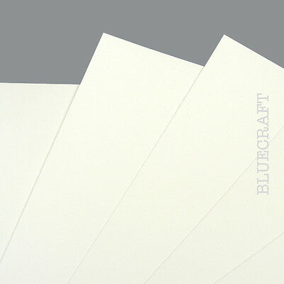 10 x A5 White Prestige Blank Invitation Cards 400gsm - Weddings Parties Events