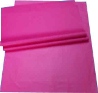"""25x Pink Tissue Paper Sheets Size 450x700mm 18x28"""" Acid Free Wrapping Packing"""