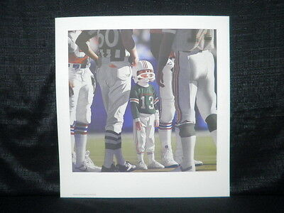 Daniel Smith Miami Dolphins Marinos Son Lithograph