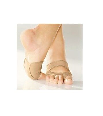 So Danca MD-16 Adult XL (Fits Sizes 11-12) Caramel Cat's Paw Lyrical Shoes