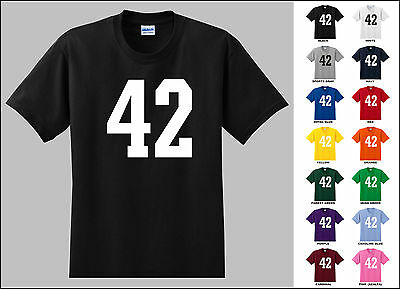 Number 42 Forty Two T-Shirt