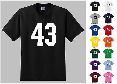 Number 43 Forty Three T-Shirt