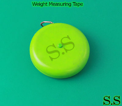 Weight Measuring Tape Veterinary Instruments